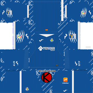 Getafe CF 2019/2020 Kit - Dream League Soccer Kits