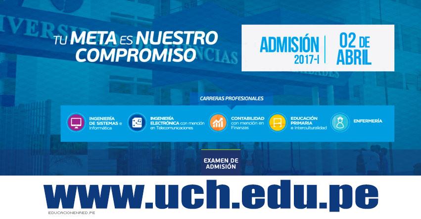 Resultados UCH 2017-1 (2 Abril ) Lista Ingresantes Admisión Universidad de Ciencias y Humanidades - www.uch.edu.pe