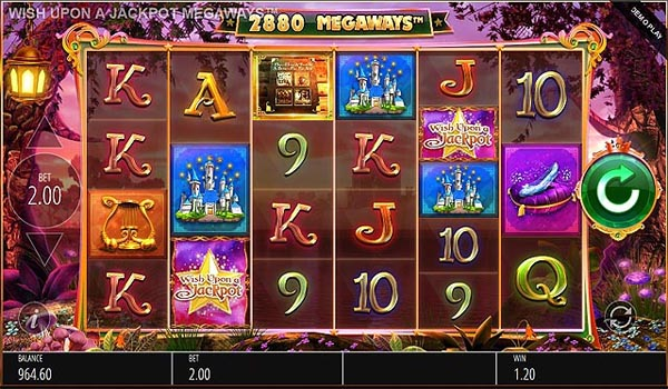 Main Gratis Slot Indonesia - Wish Upon A Jackpots Megaways (Blueprint Gaming)