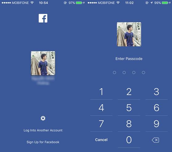 Facebook trên iPhone 2