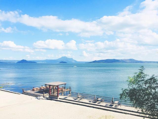 Taal Lake viewed from Club Balai Isabel