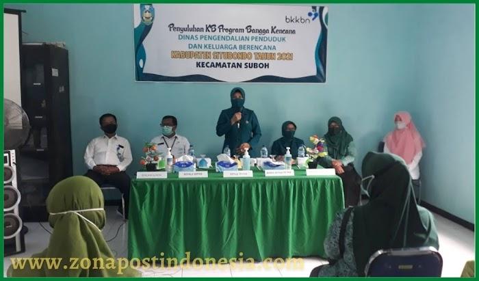 Dinas Pengendalian Penduduk dan Keluarga Berencana (DPPKB) Kabupaten Situbondo, Lakukan Penyuluhan KB Program Bangga Kencana
