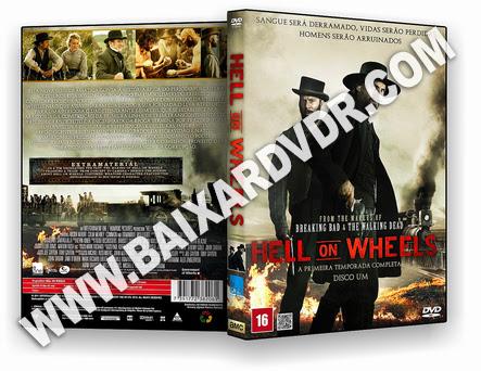 Hell on Wheels – 1ª Temporada (2011) DVD-R OFICIAL