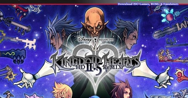 kingdom hearts 1.5 ps3 iso