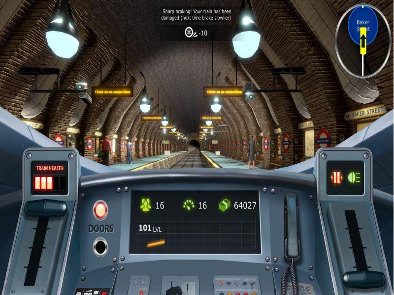 Train Simulator London Subway PC Game Free Download