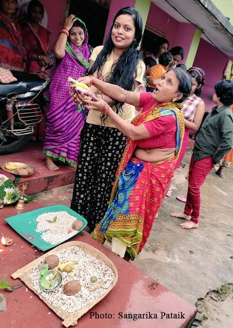 Odisha Girls celebrating Kumara Purnima in 2021