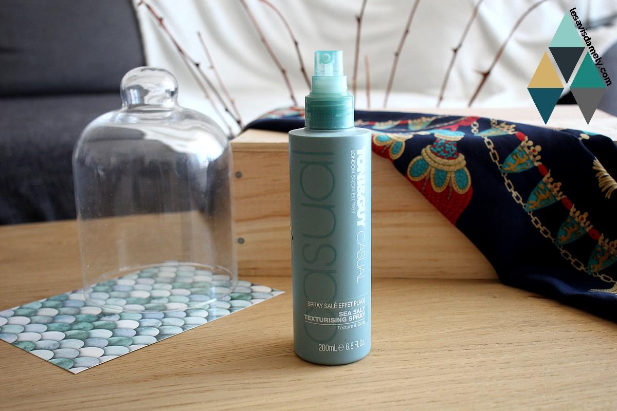 revue beauté spray salé effet wavy pour cheveux ondulés