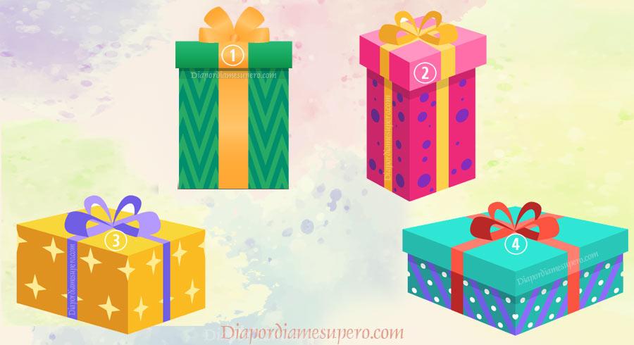 Test: elige un regalo y descubre eso que te haría feliz