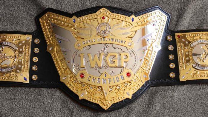IWGP World Heavyweight Championship belt