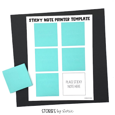 If you're tired of writing the same notes and reminders each day, try printing them on sticky notes instead. Here's a quick tutorial to get you started.