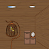 Escape from a hut with holes