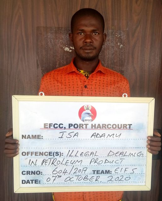 Court Jails Oil Thief in Port Harcourt