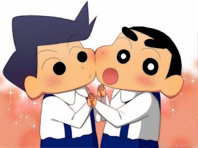 Tora kazhama with shin Chan Crayon Shin Chan and Friends family cute wallpapers 4K Ultra HD