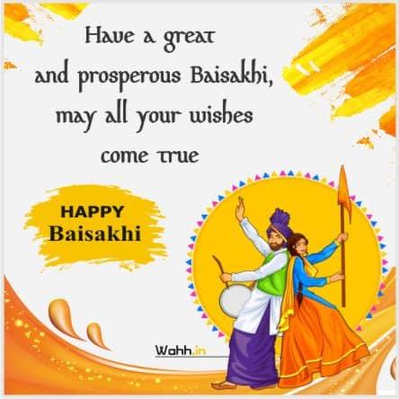 Baisakhi Status In  English
