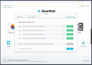 برنامج, مدير, الايفون, والايباد, أفضل, بديل, للايتونز, DearMob ,iPhone ,Manager