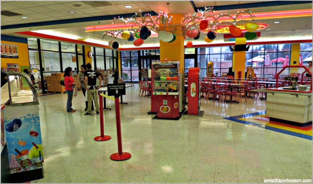 Jelly Belly: Restaurantes