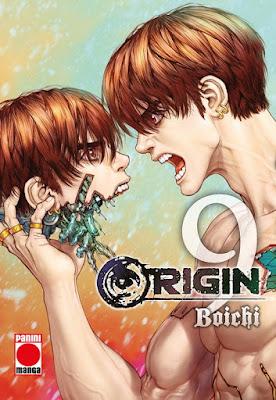 Reseña de Origin vols 9 y 10 de Boichi - Panini Comics