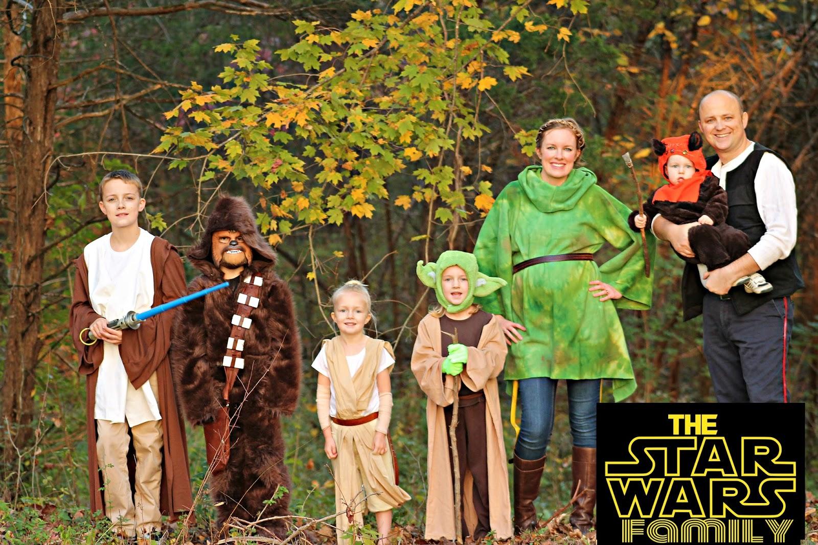 Star Wars Family Costumes  sc 1 st  Freshly Completed & Freshly Completed: Star Wars Family Costumes