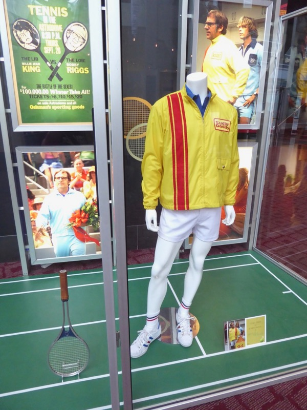 Steve Carell Battle of the Sexes Bobby Riggs movie costume
