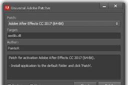 Adobe Patcher İndir v2018 v2.0 CC-CS4-CS5-CS6 Lisanslama Programı