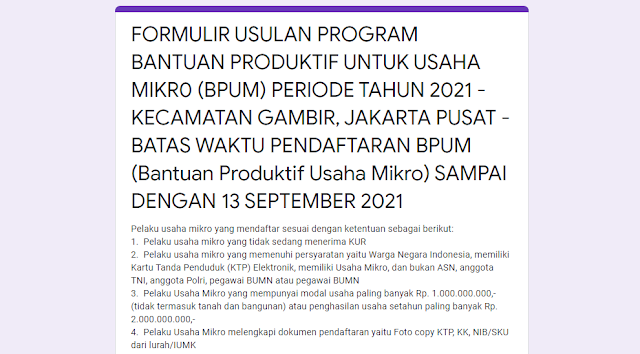 Masing-masing daerah mempunyai link pendaftaran online yang berbeda, Untuk Daerah DKI Jakarta, silahkan daftar sesuai dengan link kecamatan anda dibawah ini: