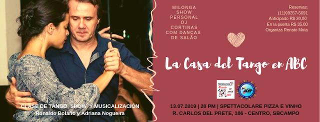 La Casa del Tango en Abc 3º edição.