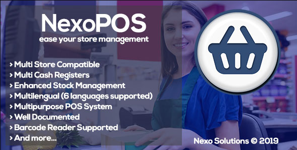 NexoPOS - Extendable PHP Point of Sale