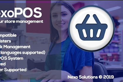 NexoPOS v3.14.33 - Extendable PHP Point of Sale