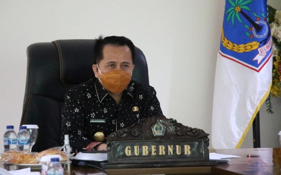 Rapat Bersama KPK, Agus Fatoni Sampaikan Tekadnya Pertahankan Sulut Nomor Satu Pencegahan Korupsi