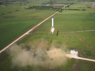 Grasshopper landing, 5th test flight