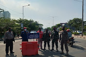 OPS Yustisi Penegakan Disiplin Masker Koramil 02/TB Bersama Tiga Pilar Tambora Lainnya, Jaring 28 Pelanggar Prokes
