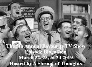 5th Annual Favorite TV Show Episode Blogathon -- March 22-24
