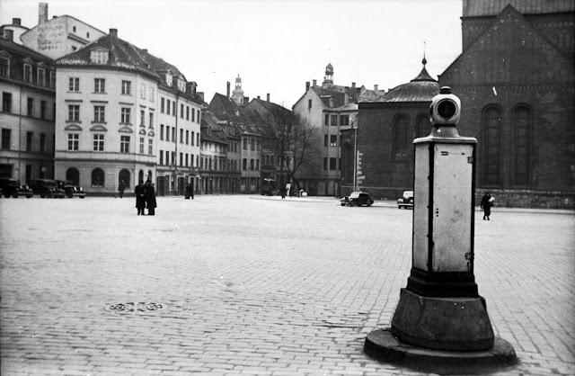 1938 год. Рига. Площадь 15 Мая после ее расширения