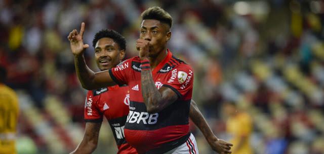 Flamengo bate Barcelona e abre vantagem na semifinal da Libertadores