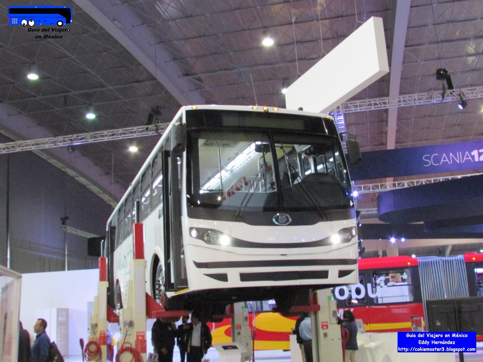 Guía del Viajero en México: Adquiere CDMX 148 camiones Dina con alta ...