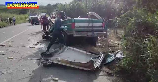 3 muertos y 2 heridos tras choque violento en Puerto la Cruz