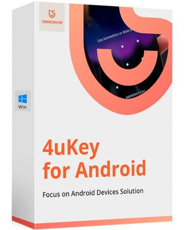 Tenorshare 4uKey for Android 2.0.2.1 poster box cover