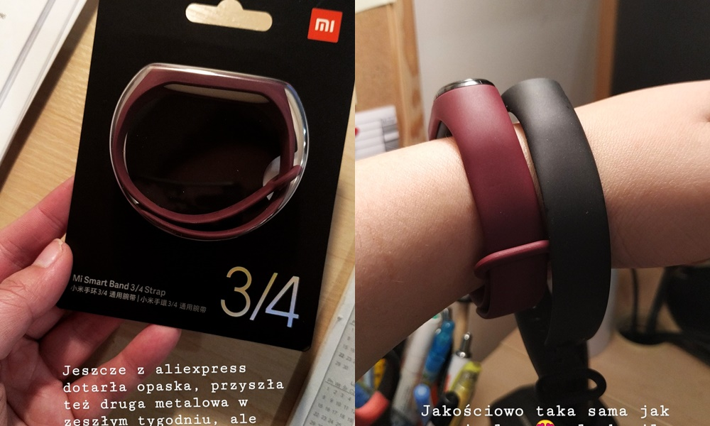 Opaski do Mi Band 4 - aliexpress