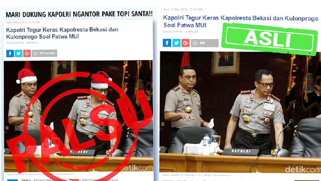 Fotonya Diedit dengan Topi Sinterklas, Tito: Makin Banyak Fitnah, Maka Gugur Dosa Saya