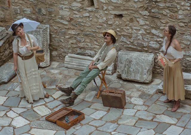 """""""Σπουδαία Ερείπια"""" από το Εθνικό Θέατρο στο Στάδιο του Ιερού του Ασκληπιείου της Επιδαύρου"""