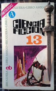 Portada del libro Ciencia ficción 13, de varios autores