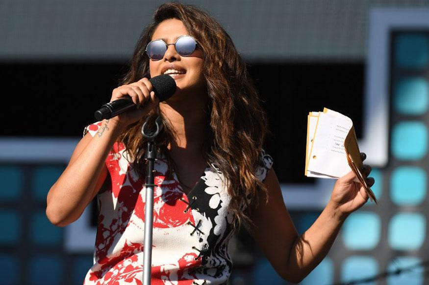 Priyanka Chopra at the Global Citizen Festival In New York