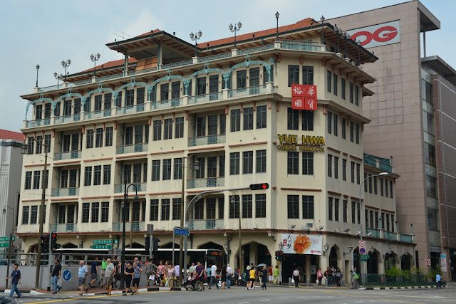 Chinatown Singapore colonial