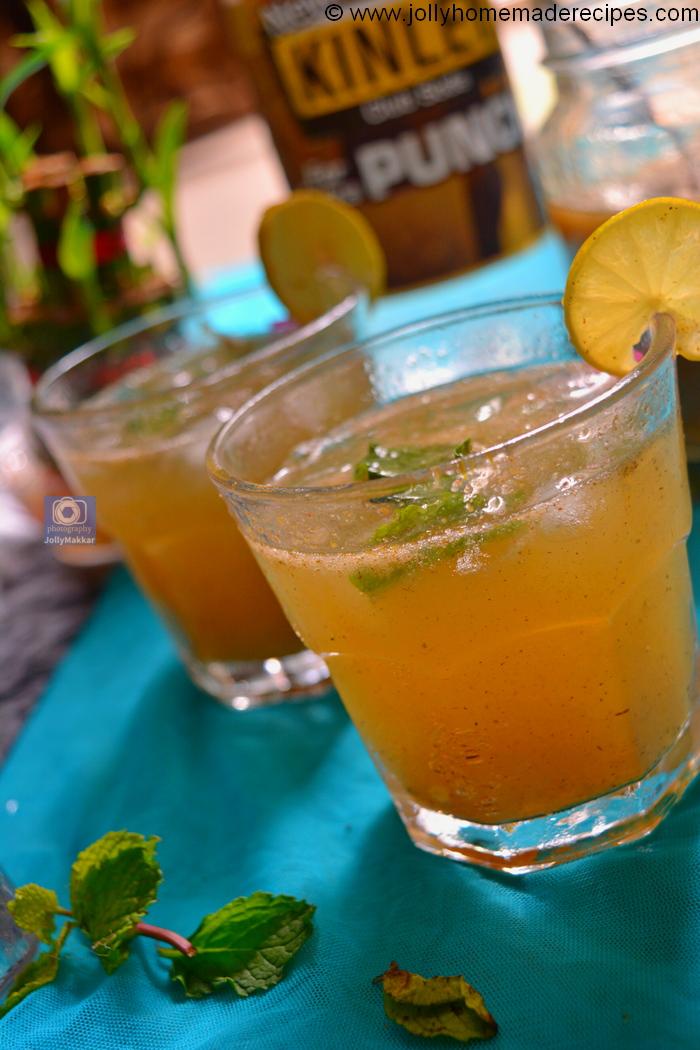 How to make mango masala lemonade