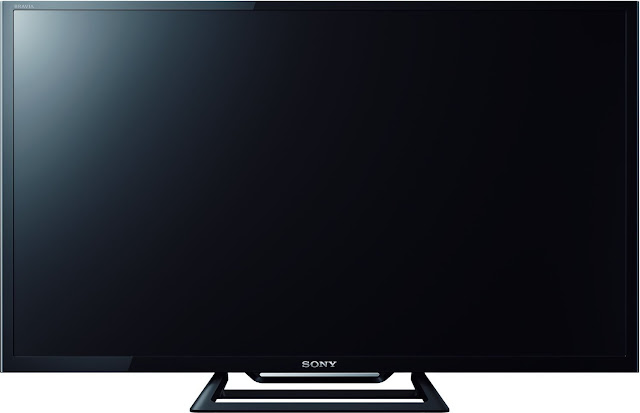 Sony BRAVIA KLV-32R412C 80 cm (32 inches) HD Ready LED TV Front view without playing