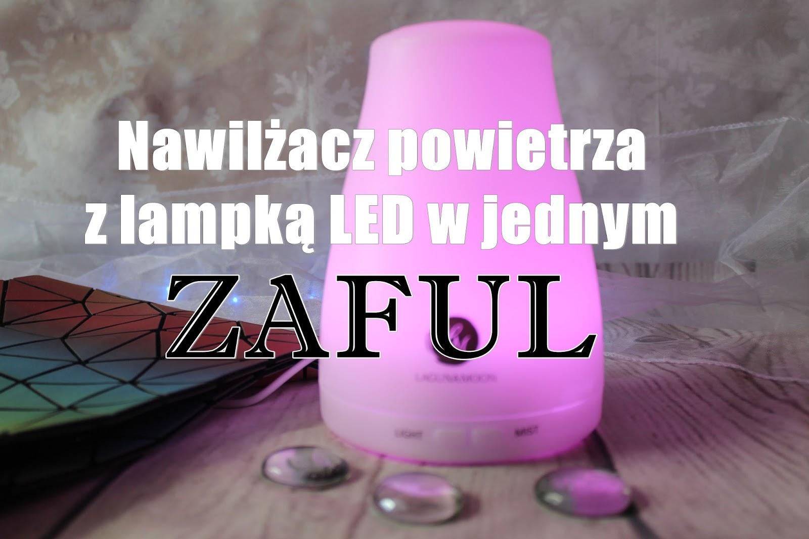 Nawilżacz powietrza z lampką LED w jednym - ZAFUL