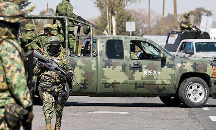 Sicarios atacan a Militares en Miguel Alemán, Tamaulipas, los soldados repelieron la agresión y los abatieron