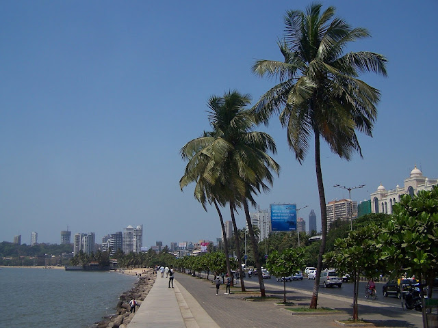 Marine Drive à Bombay