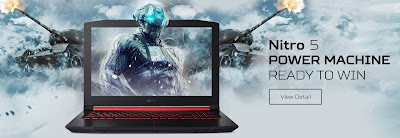 Nitro 5 laptop gaming murah