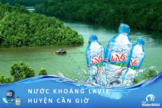 Đại lý đặt nước khoáng Lavie, Viva bình 20L, thùng đóng chai ở huyện Cần Giờ
